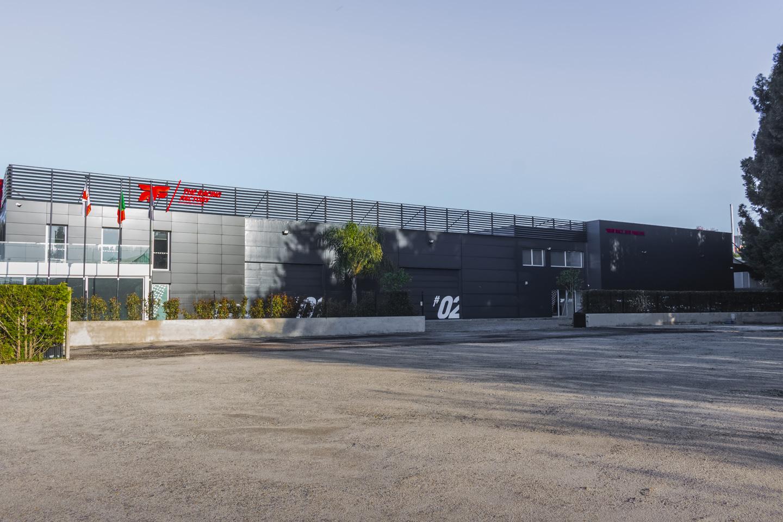 Exterior da The Racing Factory
